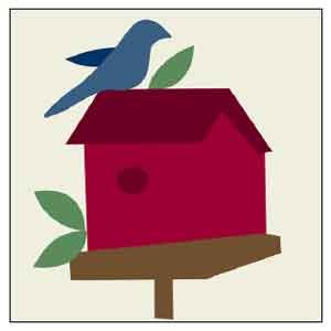 BH3 Block 4 Birdhouse
