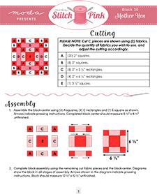 stitch pink 30