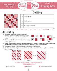 stitch pink 09