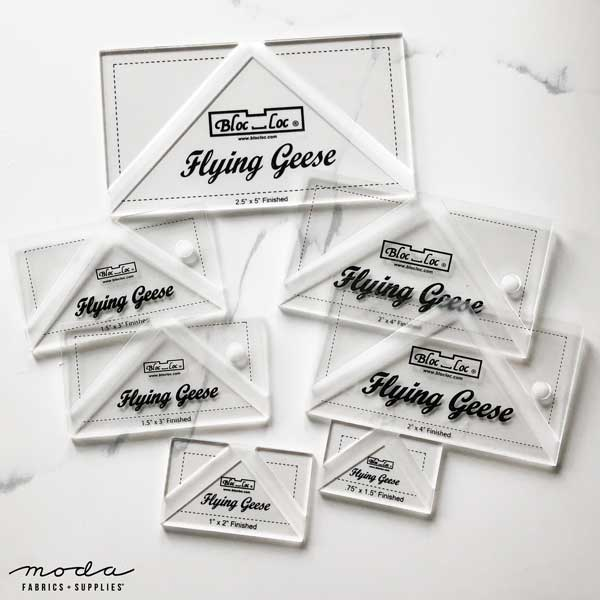BlocLoc Flying Geese Rulers