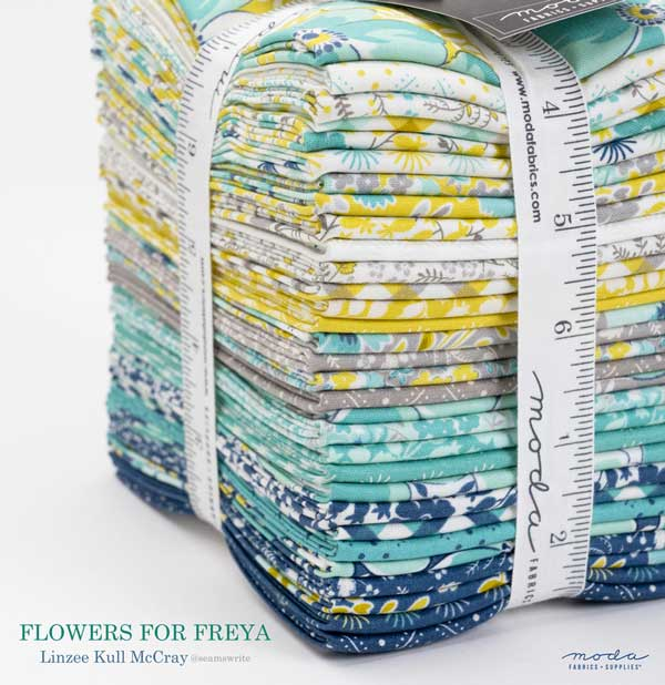 CT Linzee McCray Flowers For Freya FQ Bundle
