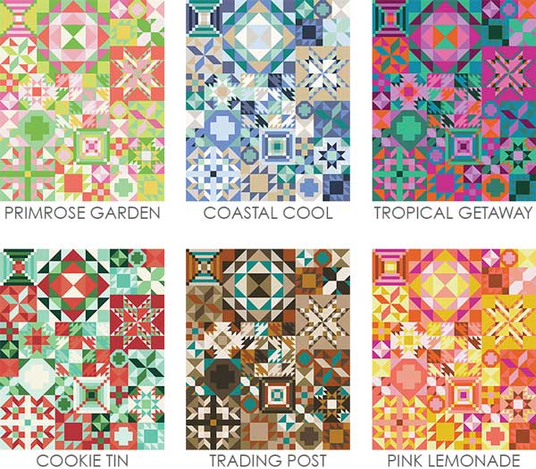 CT MFC Samplers Full Quilts Colorways