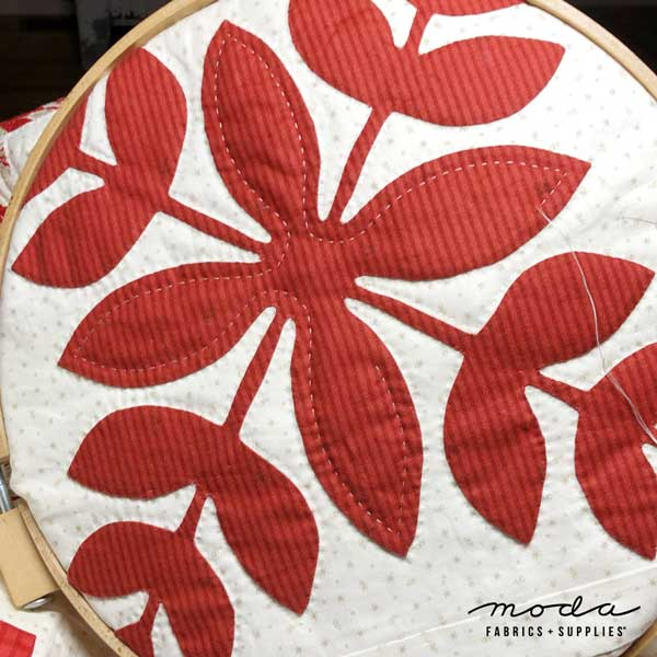 CT Minick & Simpson Roselyn Hand Quilting
