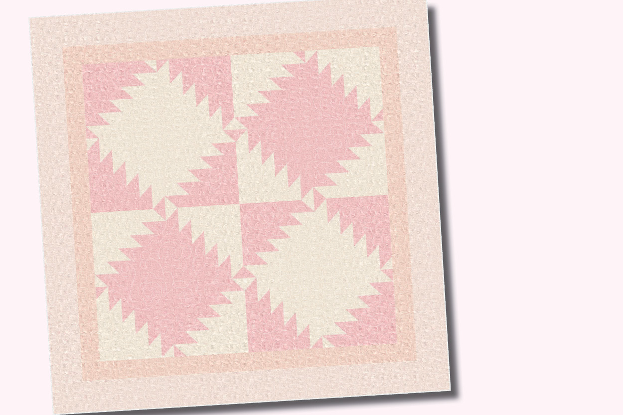 teaser image for Peachy Dreams Quilt blog post