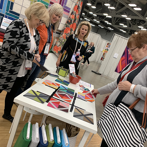 Tic Tac Toe at Quiltcon
