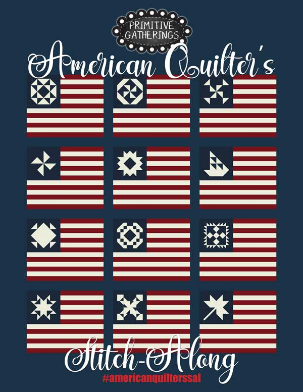 CT PG American Gathering Stitch Along