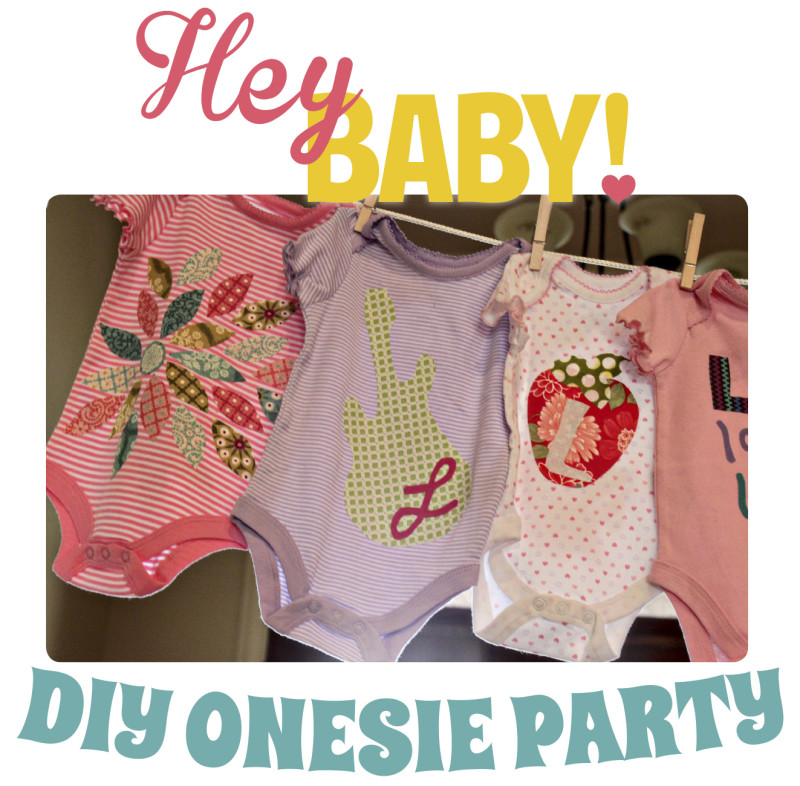 new diy onesie party