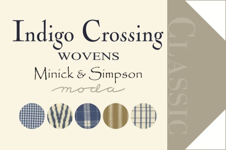 Hangtag Indigo Crossing Wovens