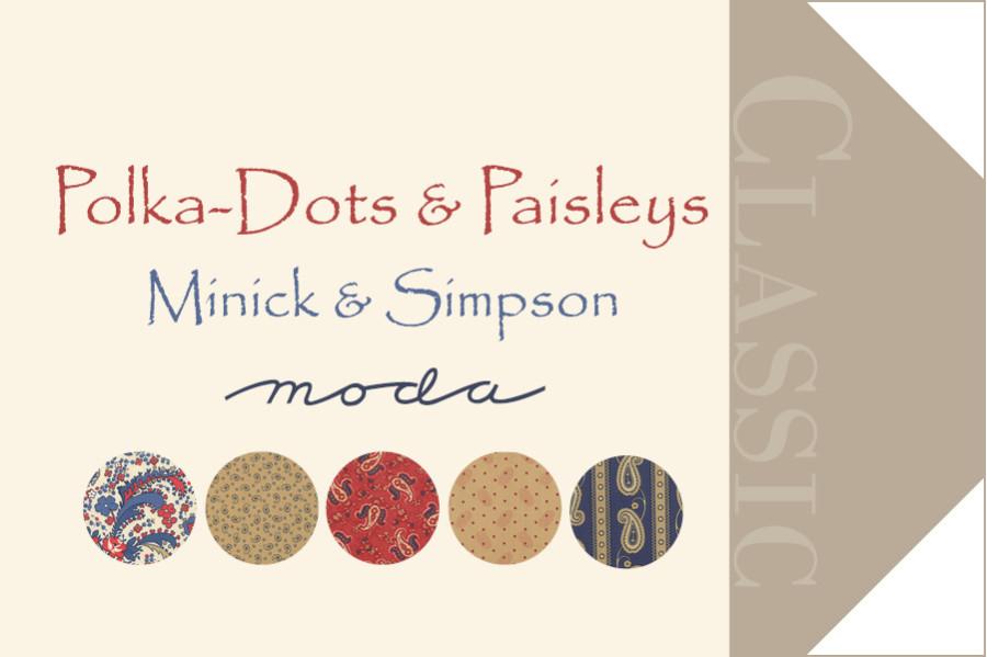 Hangtag Polka Dots & Paisley
