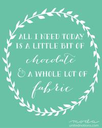 Fabric and Chocolate