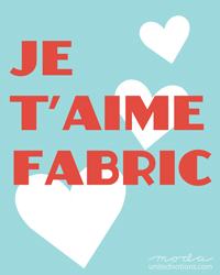Je T'aime Fabric