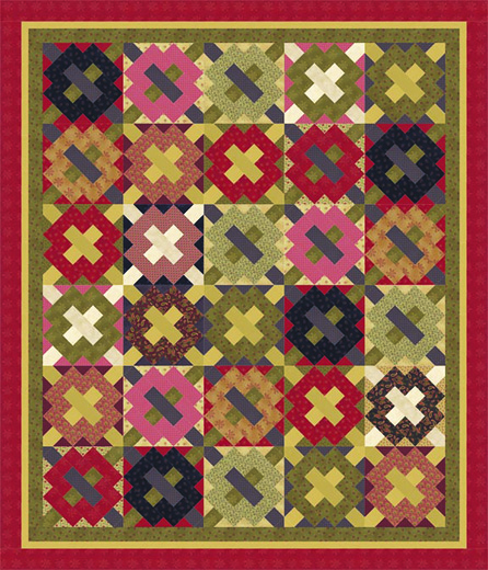15 Ladies Album Quilt 72dpi