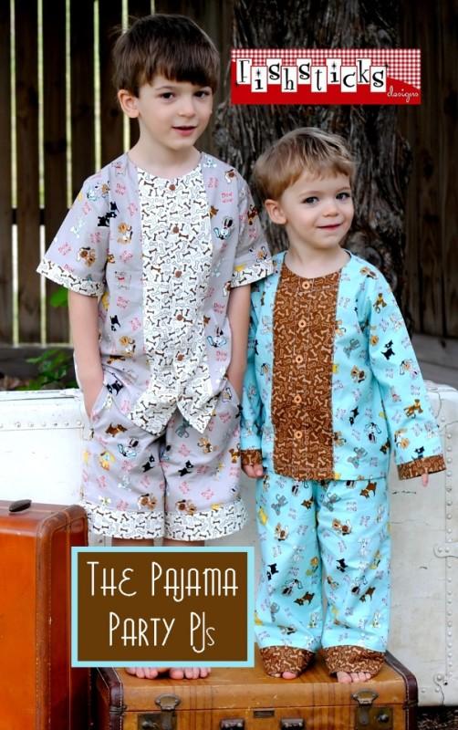 Fishsticks Pajama Party PJs