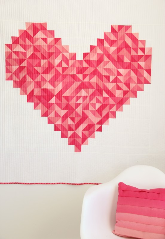 Vanessa Christensen's i heart you quilt
