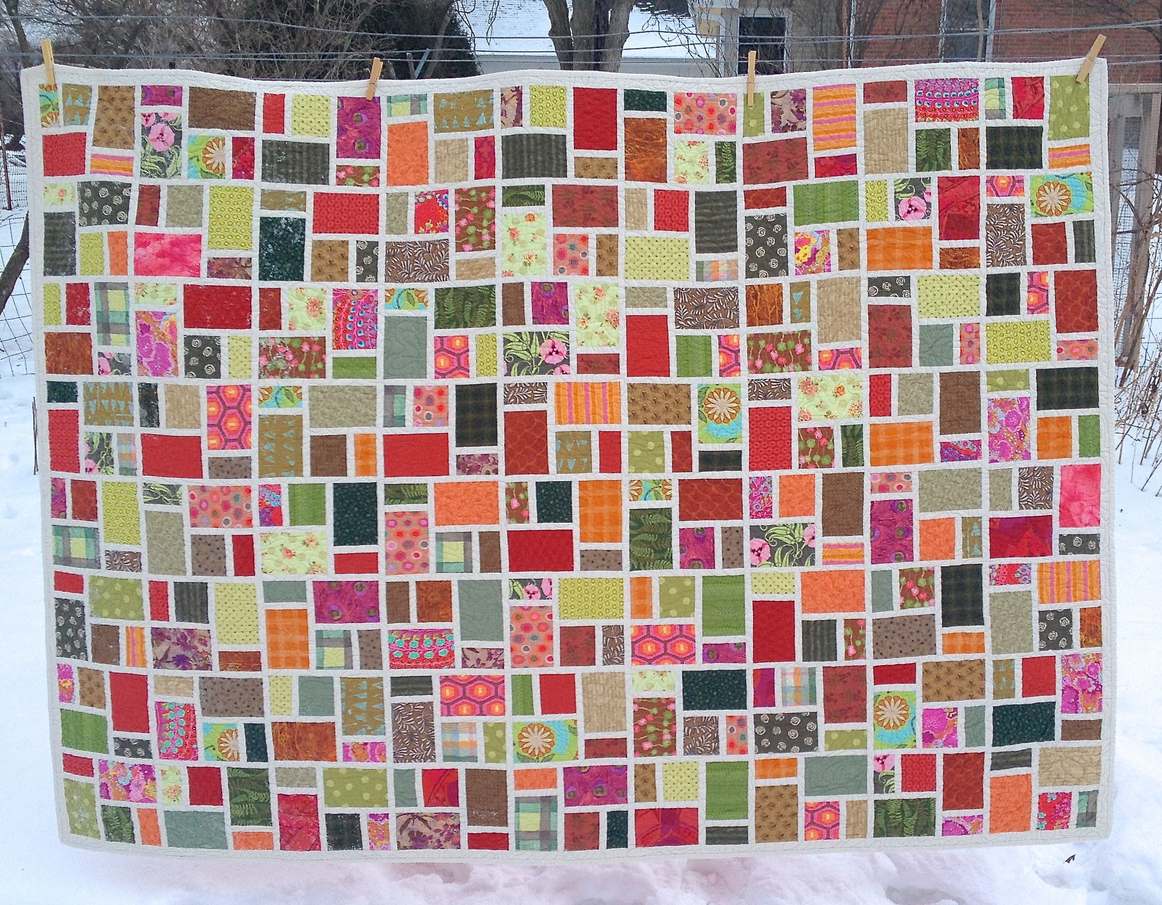 Quilting: It Really IS Good for You! Â« modafabrics : taking turns quilt - Adamdwight.com