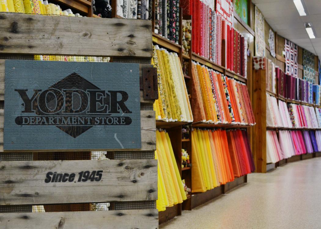 Featured Quilt Shop: Yoder Department Store Â« modafabrics : shipshewana quilt shops - Adamdwight.com