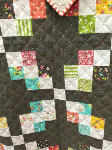 Corey Yoder big stitch quilting Moda
