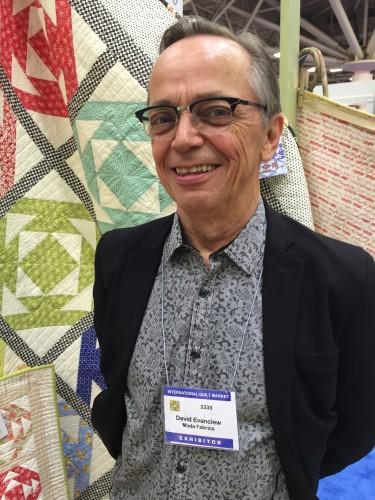 Mod Fabrics rep David Evanciew