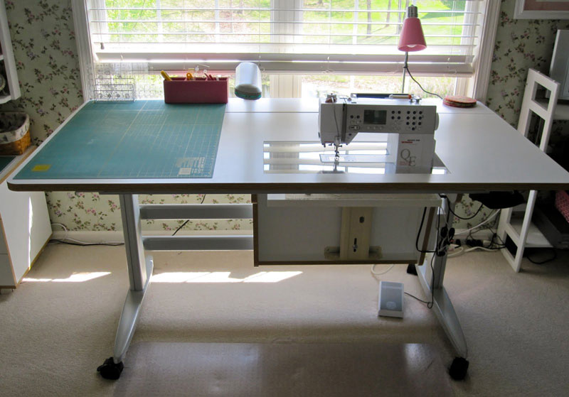 asimplelife quilting cutting quilts table tables quilt dream