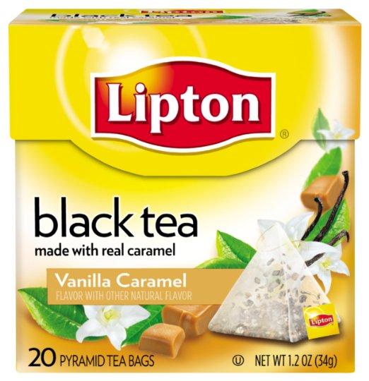 Lipton Black Tea with Caramel