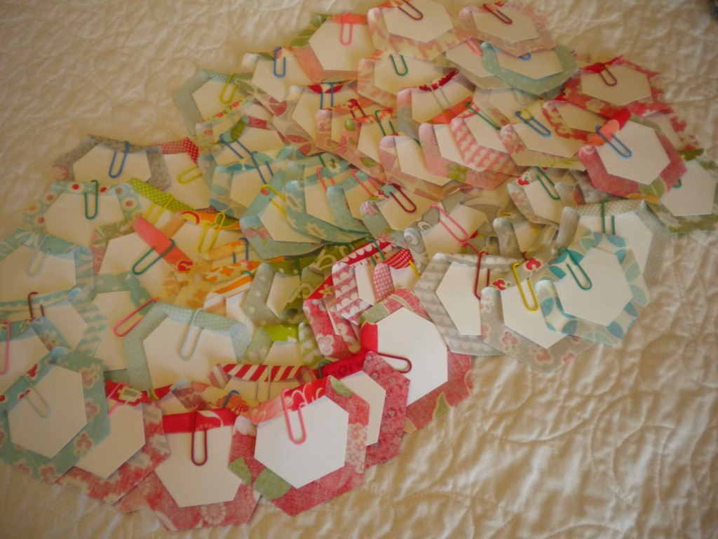 Sherri McConnell paper clip hexies