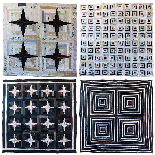 LUKE Log Cabin Quilts 1