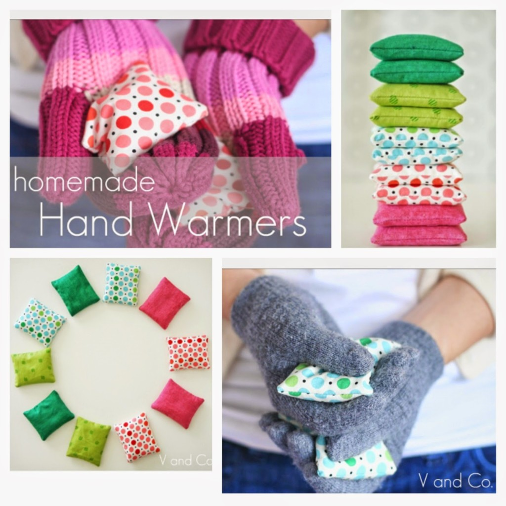 Rice Hand Warmers with lavender Vanessa Christensen V and Co