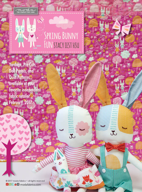 Spring Bunny Fun by Stacy Iest Hsu