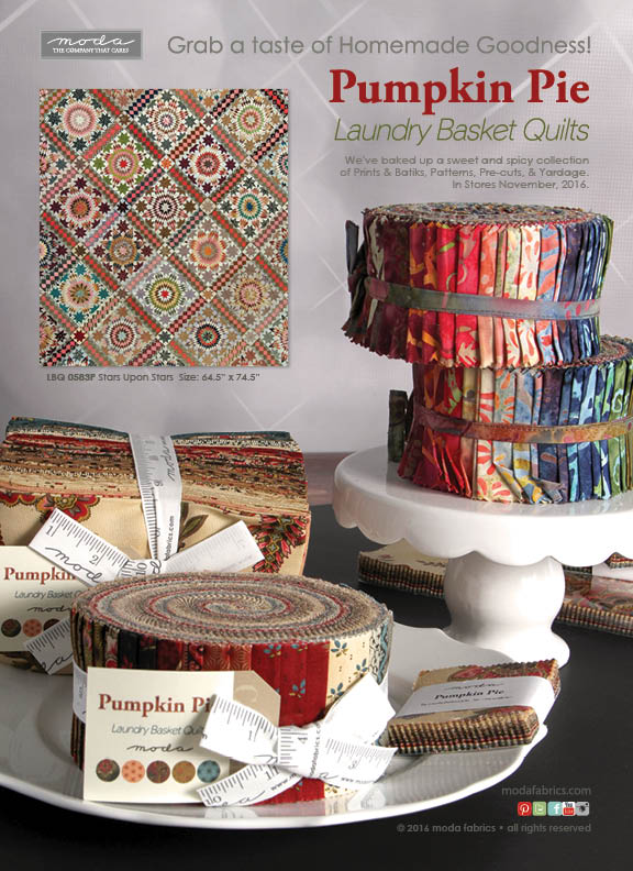 Pumpkin Pie by Laundry Basket Quilts