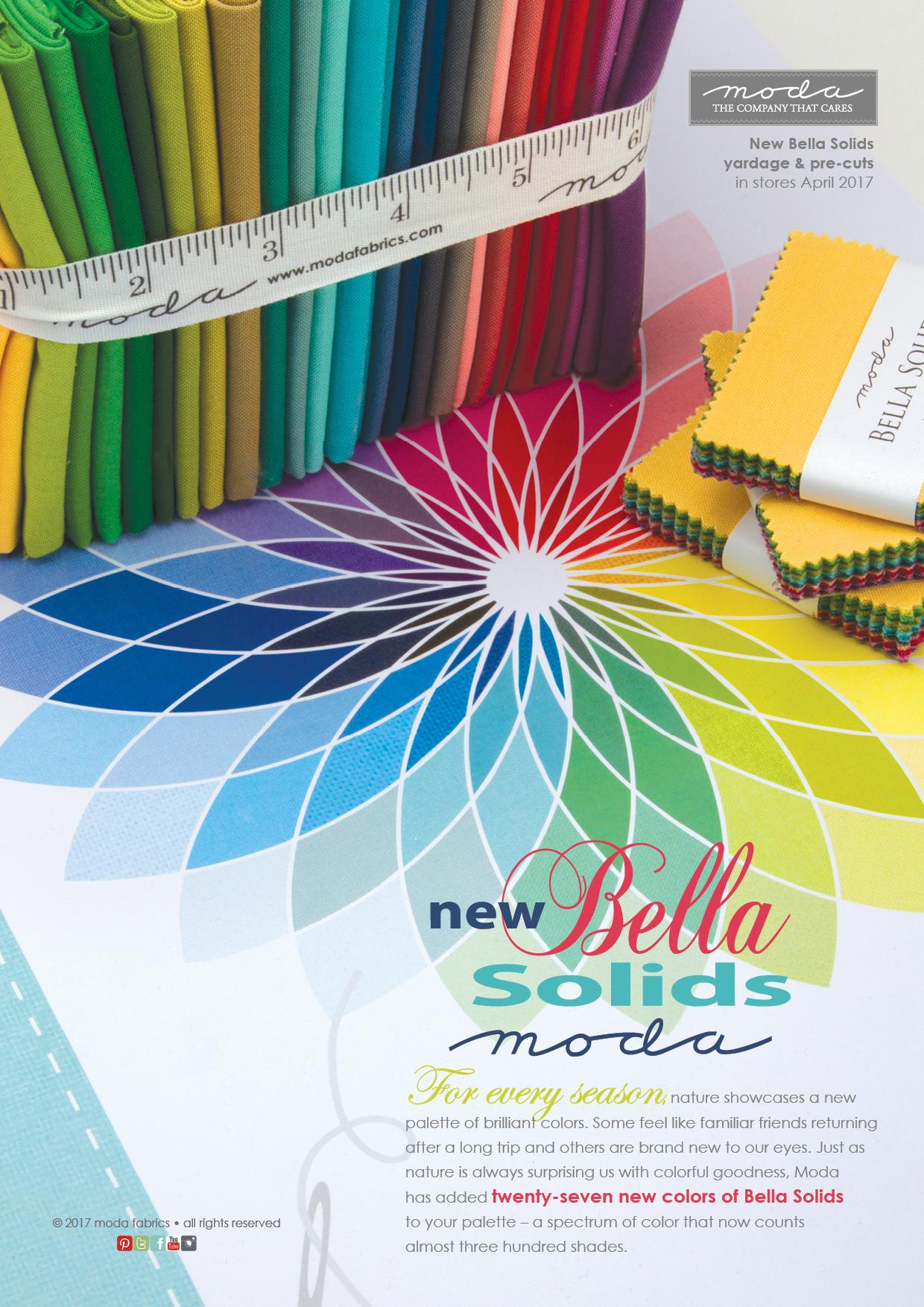 New Bella Solids 2017
