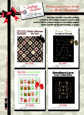 Christmas 2017 Quilt Kits