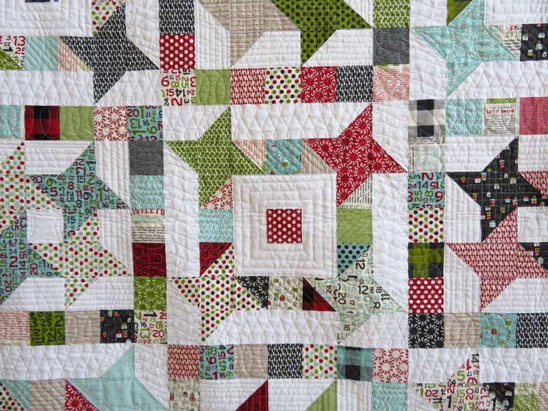 Christmas in July ~ Hometown Stars Â« modafabrics : quilts plus kalamazoo - Adamdwight.com